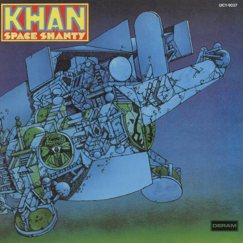Khan - Space Shanty 1972 (UK, Canterbury Scene/Progressive Rock)
